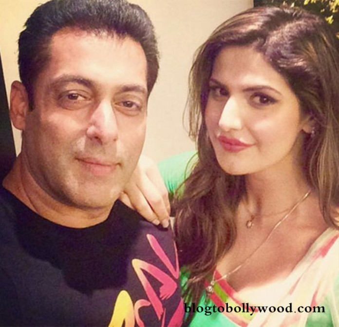 Zareen Khan wishes Salman and Lulia, is very happy for them!