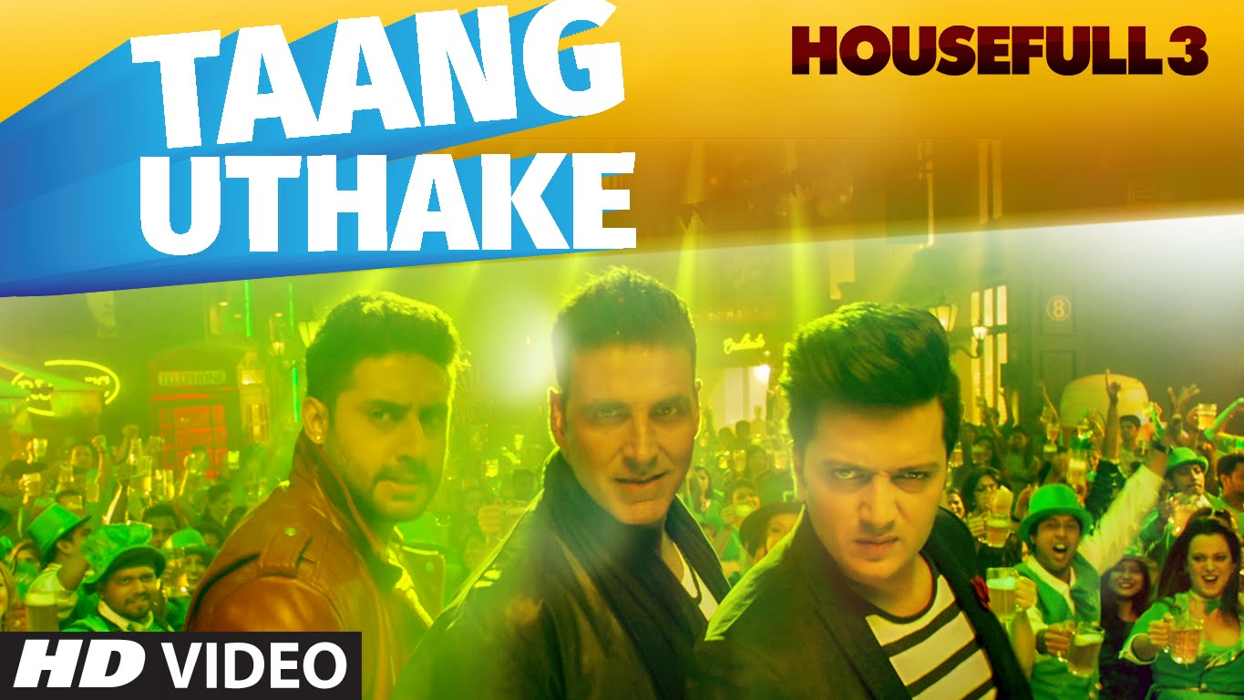 Learn how to lift your leg with Taang Uthake from Housefull 3