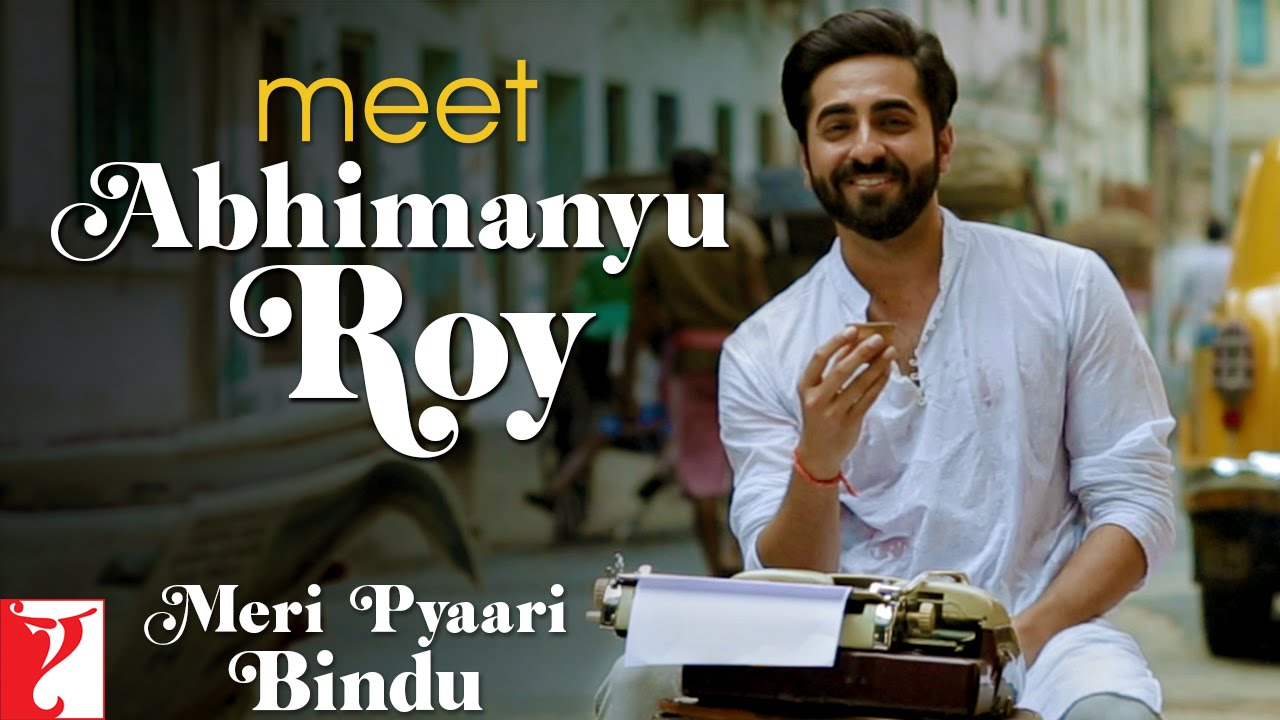 Presenting Ayushmann Khurrana As Abhimanyu Roy from Meri Pyaari Bindu