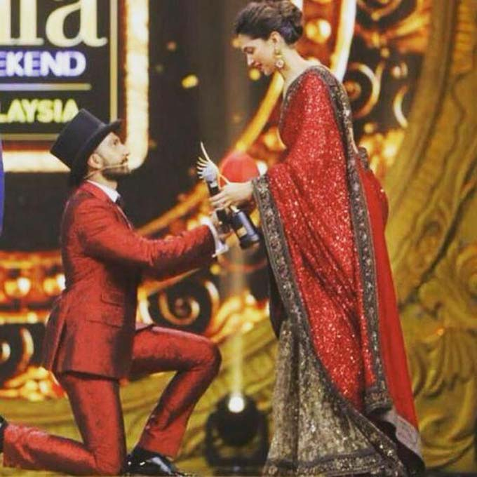 Woah! Deepika Padukone gets proposed but not by Ranveer Singh!- Deepika and Ranveer
