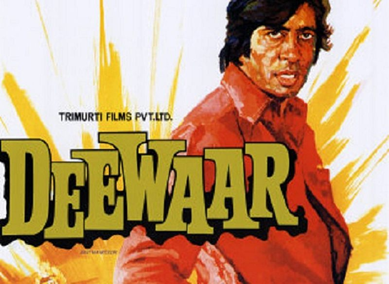Top 10 Amitabh Bachchan Movies that every Bollywood Lover must watch- Deewar