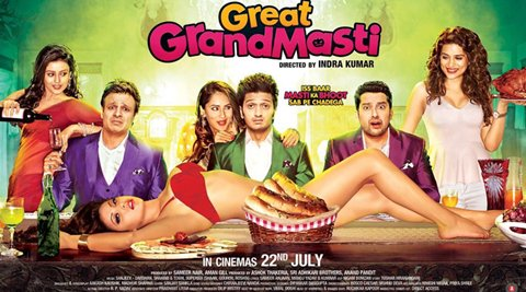 Great Grand Masti First Look Out, Trailer To Be Released Tonight