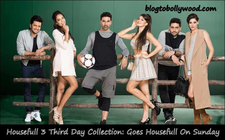 Housefull 3 3rd Day Collection | 'Housefull 3' Had A Housefull Sunday