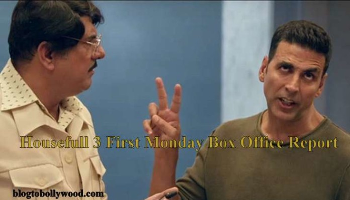 Housefull 3 4th Day Box Office Collection Rock Steady On Monday