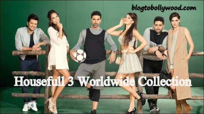 Housefull 3 Worldwide Collection | Grosses 100 Crores In Just 3 Days