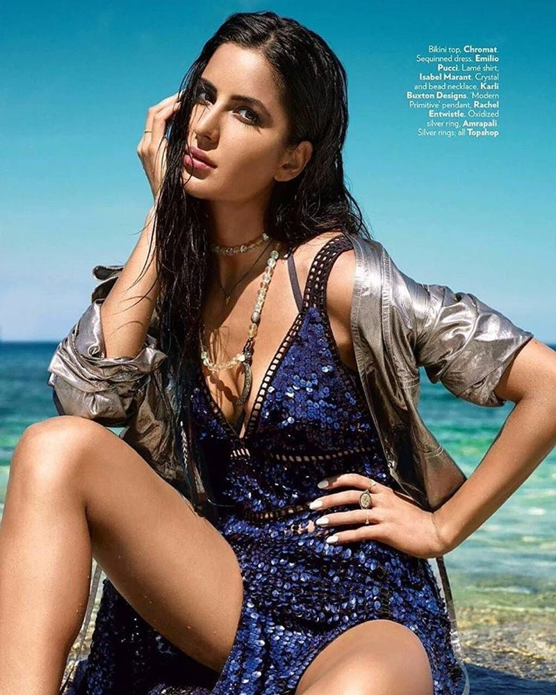 Queen of the Water Kingdom | Katrina Kaif on the cover of Vogue India- Katrina Vogue 2