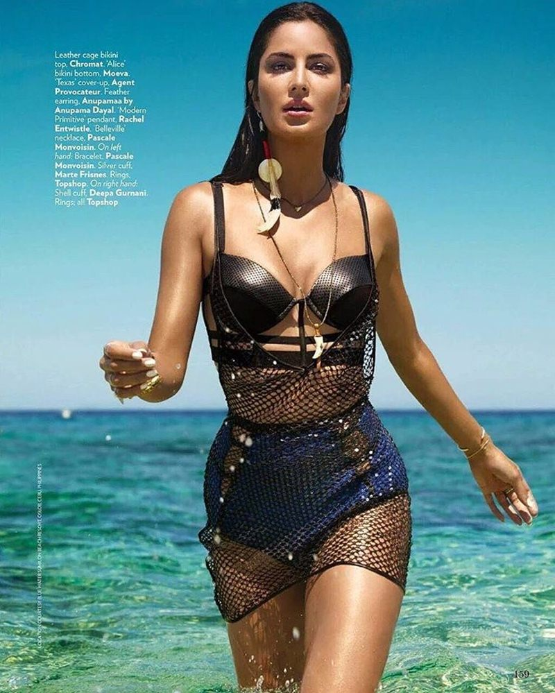 Queen of the Water Kingdom | Katrina Kaif on the cover of Vogue India- Katrina Vogue 4