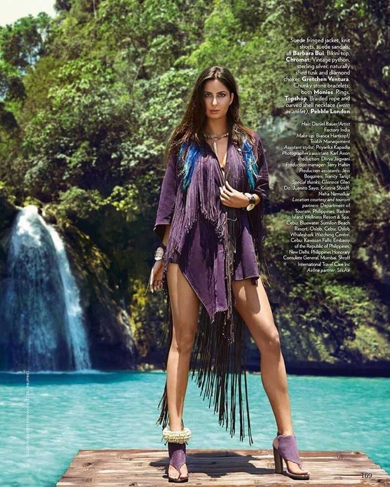 Queen of the Water Kingdom | Katrina Kaif on the cover of Vogue India- Katrina Vogue 5