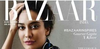 Lisa Hayden ups the hotness quotient in Harper's Bazaar magazine cover!