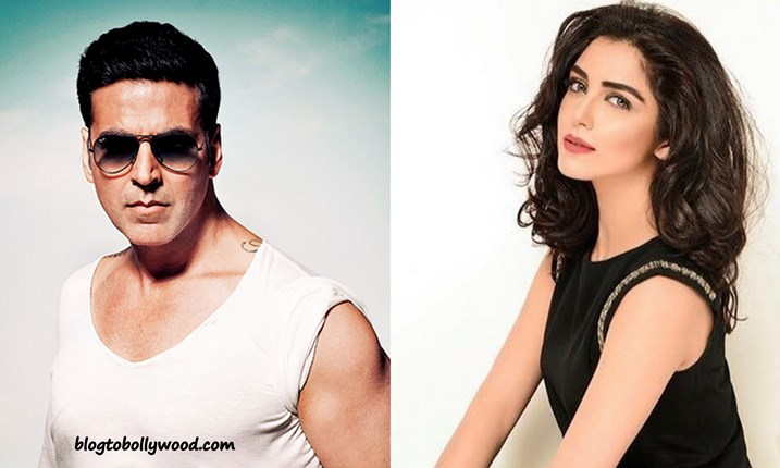 Pakistani model Maya Ali To Ramance Akshay in Kaththi Remake