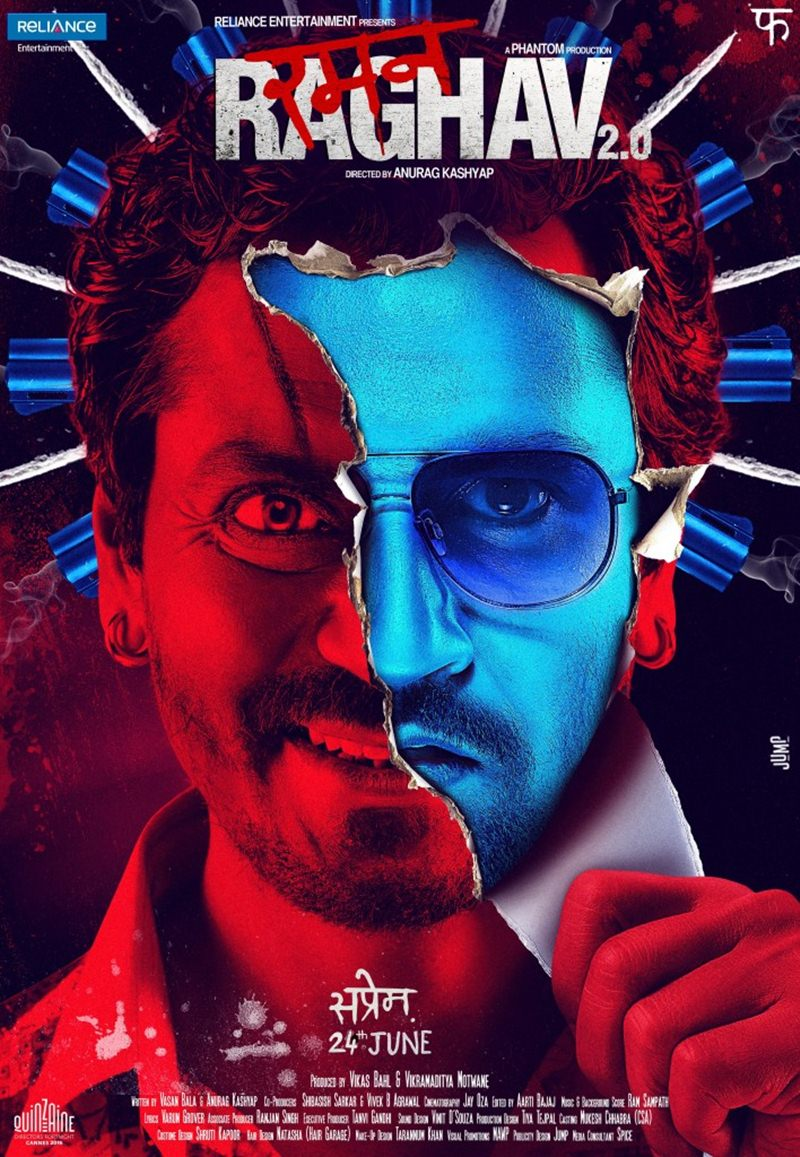 Bollywood Movies in second half of 2016 - Raman Raghav 2.0