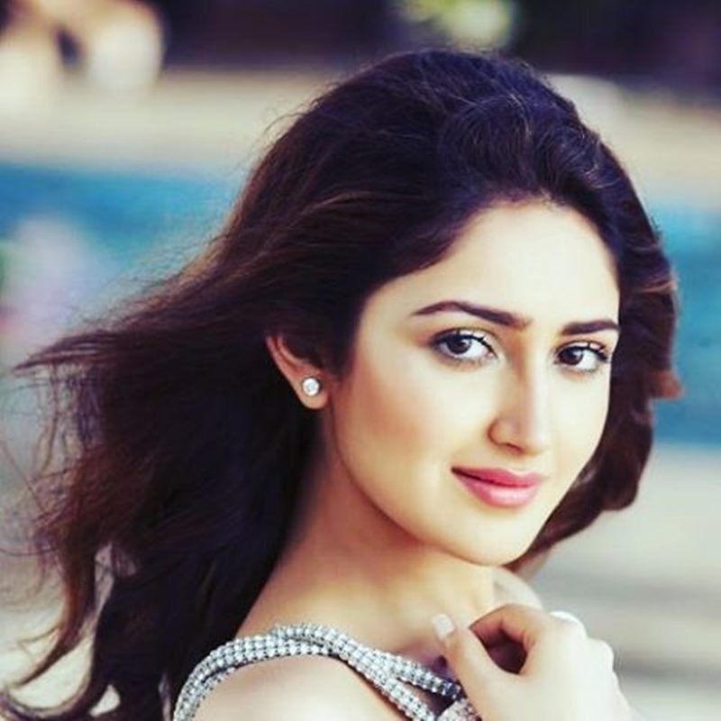 15 Stunning Pictures of Sayyeshaa, the leading lady of Shivaay- Sayyeshaa 10