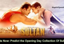 Predict The Opening Day Collection Of Sultan   Box Office Poll