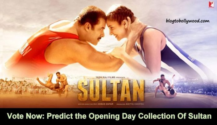 Predict The Opening Day Collection Of Sultan | Box Office Poll