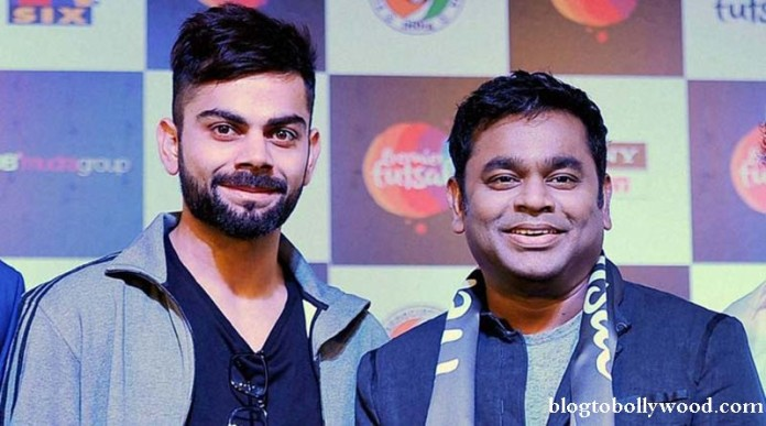 Virat Kohli to make his singing debut with none other than A.R. Rahman!