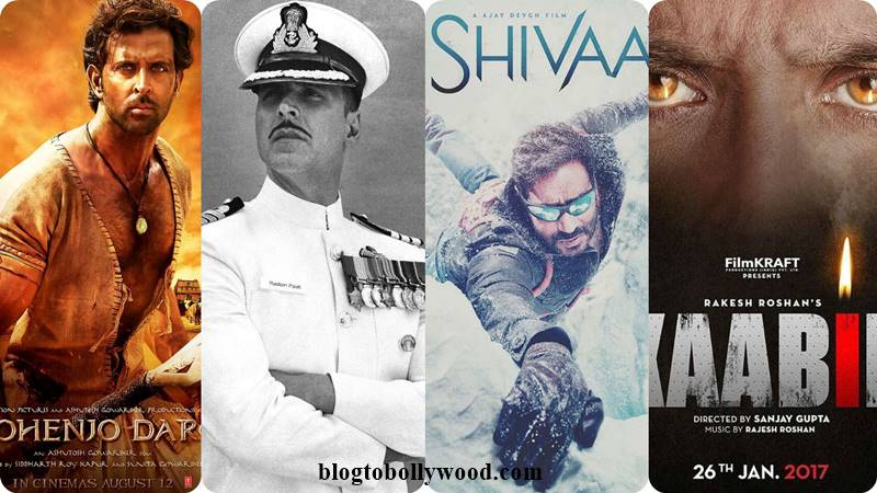 Poll of the Day | War of the first look- Mohenjo Daro Vs Rustom Vs Shivaay Vs Kaabil