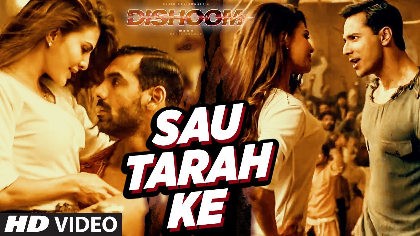 Watch Jacqueline Fernandez at her best in the first song Sau Tarah Ke from Dishoom