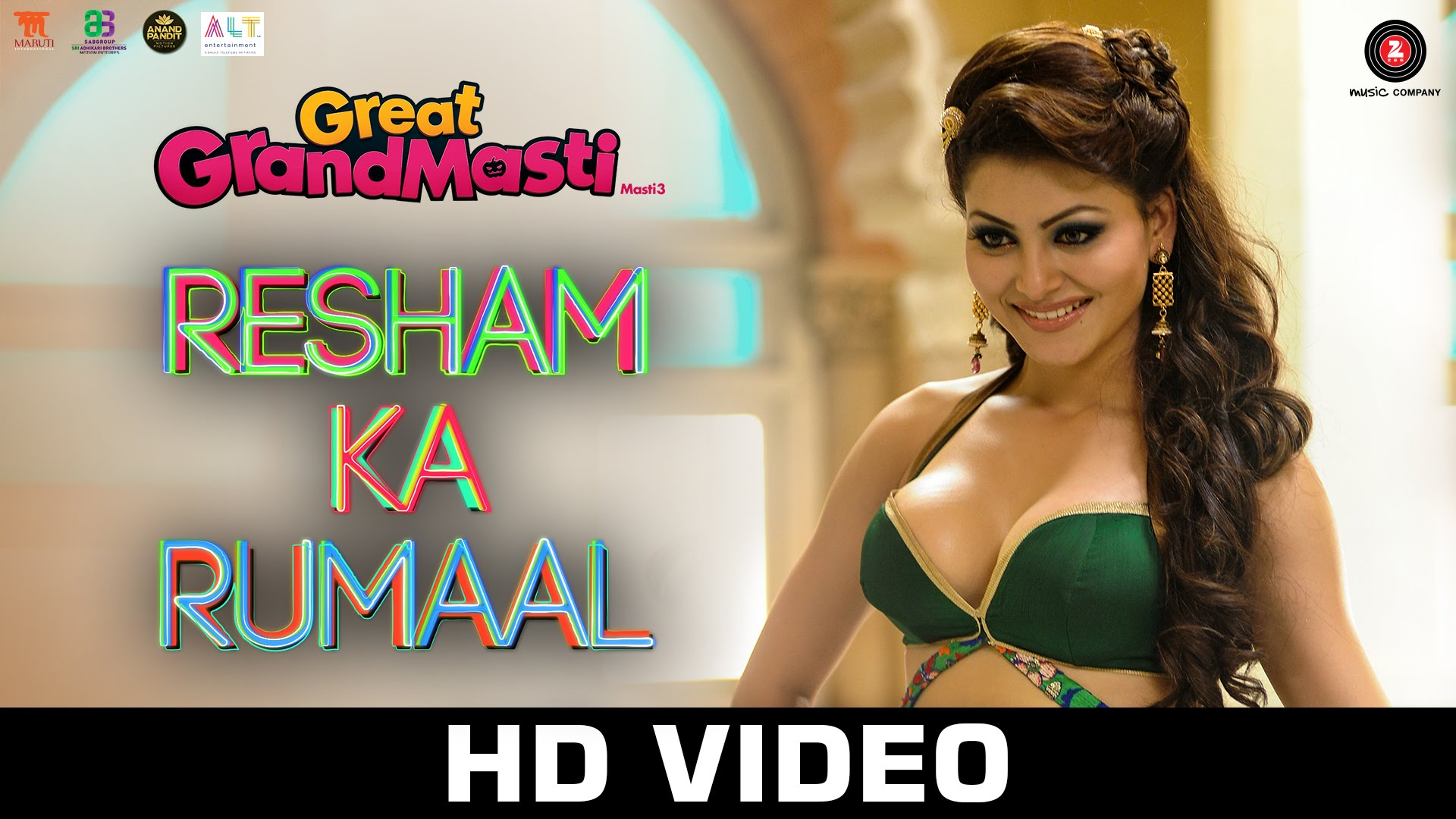Urvashi Rautela is all charms in Resham Ka Rumaal from Great Grand Masti