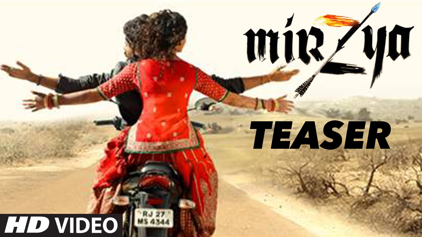 Mirzya Teaser Trailer is here and it will blow away your mind!