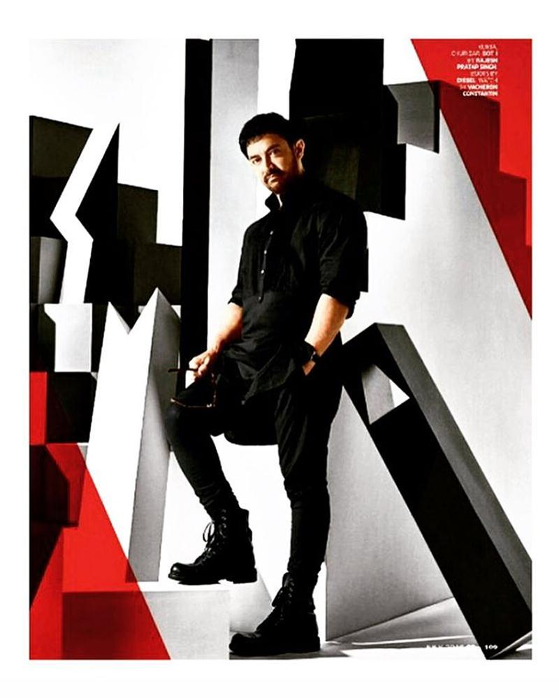 Aamir Khan looks dapper in the new cover of GQ India!- Aamir GQ 1