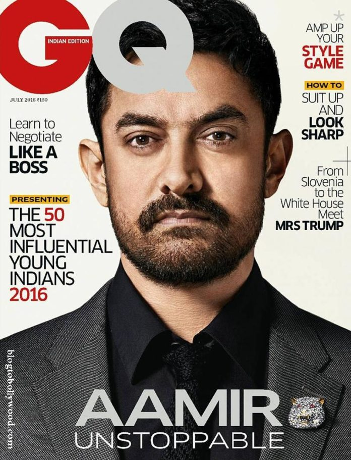 Aamir Khan looks dapper in the new cover of GQ India!