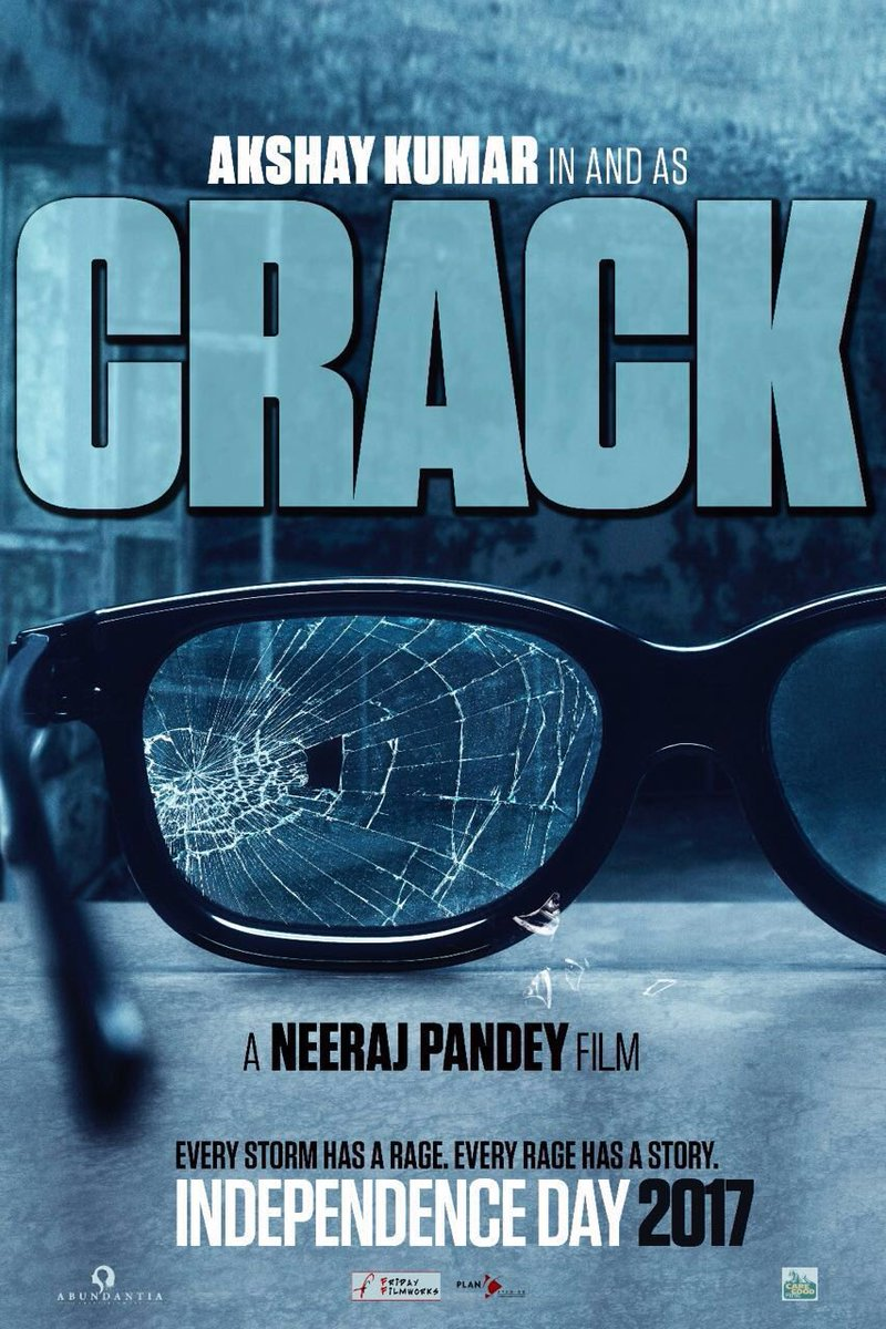 Akshay Kumar upcoming movie - Crack Poster