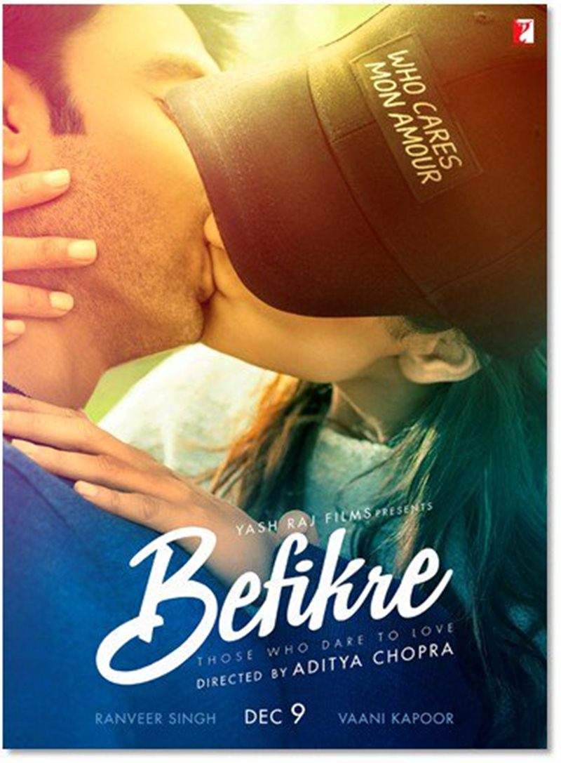 Hot Hot Hot! The fourth poster of Befikre takes romance to a whole new level!- Befikre 1
