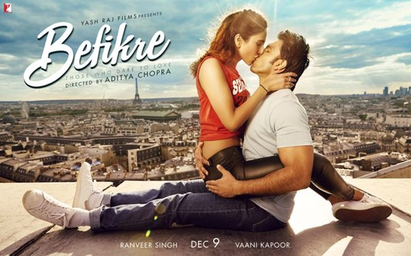 Hot Hot Hot! The fourth poster of Befikre takes romance to a whole new level!- Befikre 2