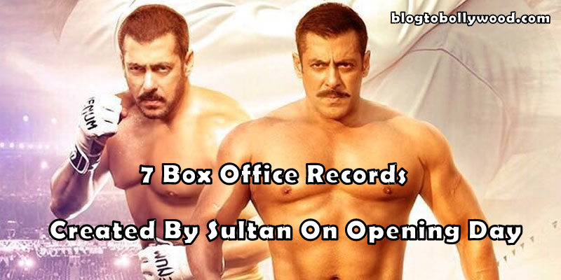 7 Box Office Records Created By Sultan On Its Opening Day