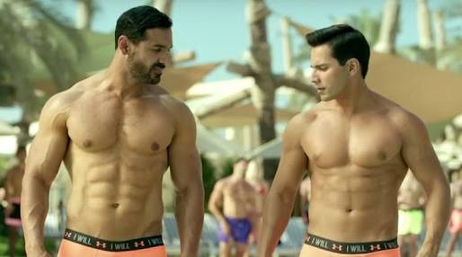 Varun and john in dishoom