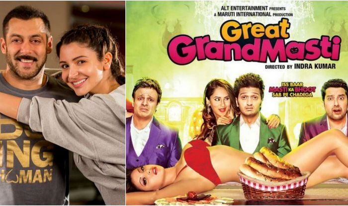 Great Grand Masti 1st Day, Sultan 10th Day Box Office Collection