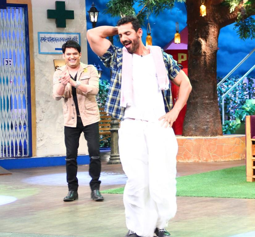 John Abraham on TKSS