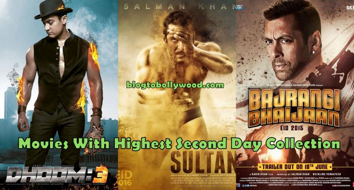 Highest Second Day Collection in Bollywood | Salman's Sultan At The Top Of List