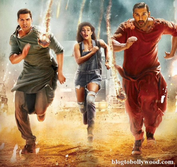 Varun Dhawan, John Abraham, Jacqueline Fernandez are on the run in new Dishoom poster