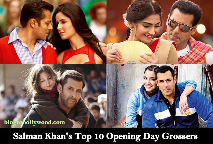 Highest Opening Day Grossers Of Salman Khan: Will Tiger Zinda Hai Tops The List?