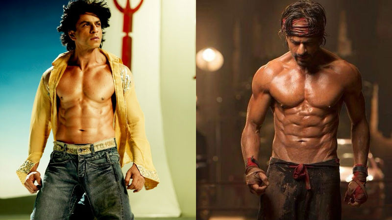 5 Most Amazing Transformations Bollywood Actors went through for a movie- Shah Rukh Khan Change