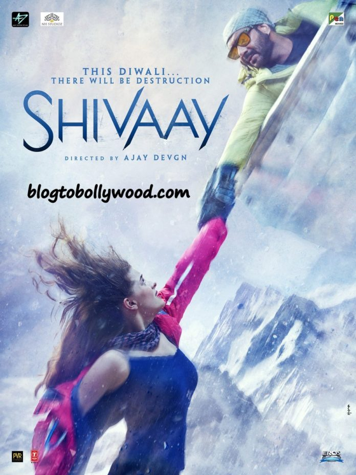 Ajay Devgn Tweeted Another Heart-Racing Shivaay Poster