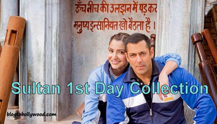 Official: Sultan 1st Day Collection, Become 3rd Highest Opening Day Grosser Of Bollywood