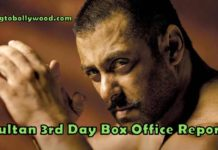 Sultan 3rd Day Collection Update | Friday Occupancy Report
