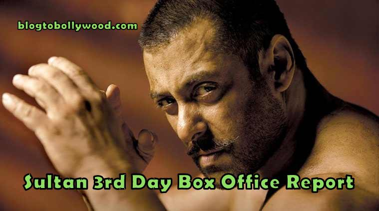 Official: Sultan 3rd Day Box Office Collection And Occupancy Report