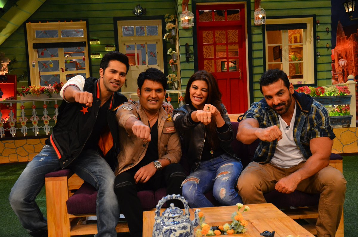 Team Dishoom with Kapil Sharma