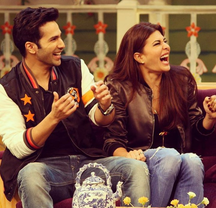 Varun and Jacqueline had a blast at TKSS