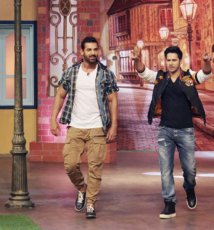 Varun and John on TKSS