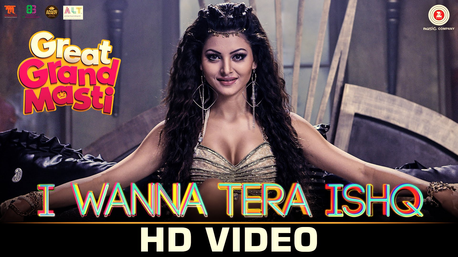 Urvashi Rautela is spooky and sexy at the same time in I Wanna Tera Ishq!