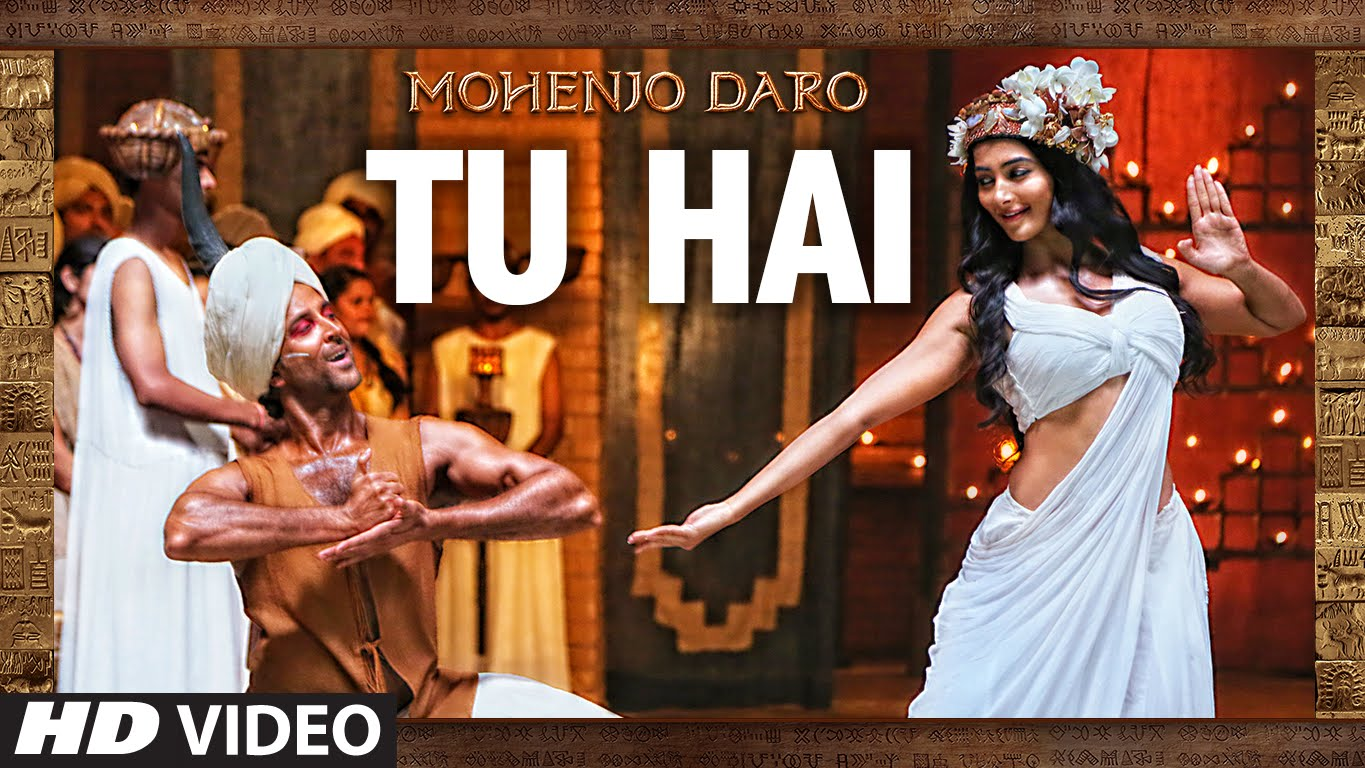 Pooja Hegde sizzles in the blissful first song 'Tu Hai' from Mohenjo Daro!