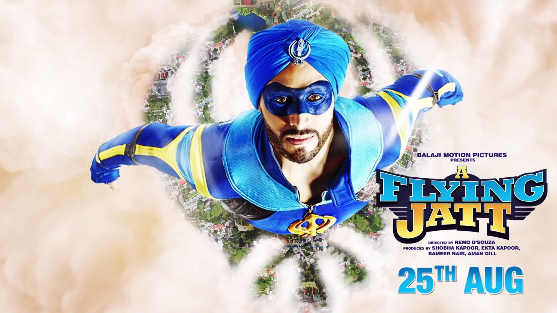 A Flying Jatt Motion Poster is out, Maaro Saare Seeti!
