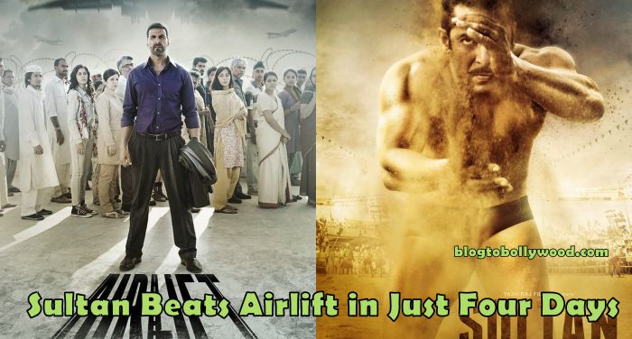 Sultan 4th Day Collection: Beats 'Airlift' To Become Top Bollywood Grosser Of 2016