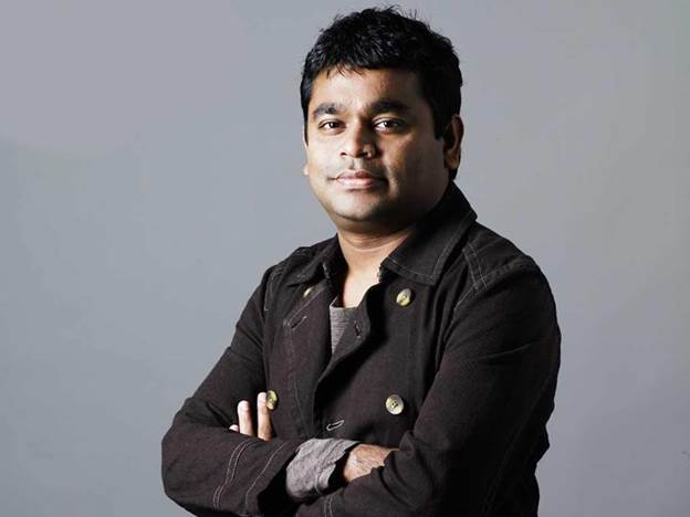 A.R. Rahman at no. 8