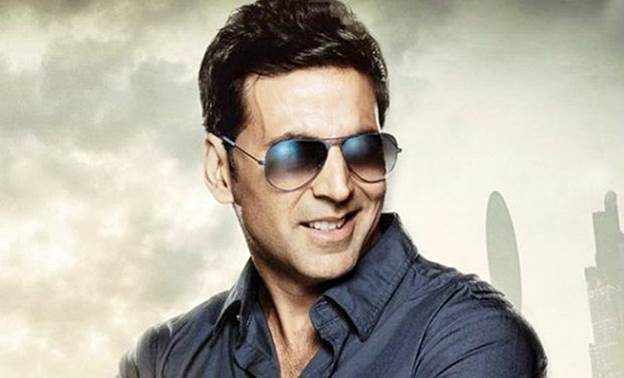 Akshay Kumar at no. 7
