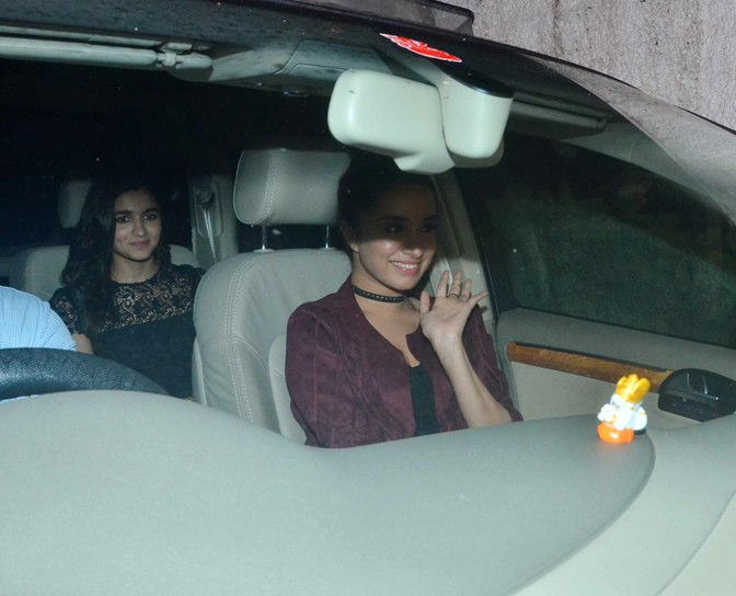 Alia Bhatt and Shraddha together for Akshay Kumar's Party